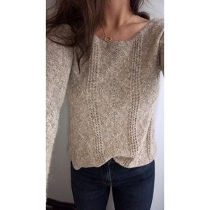 American Eagle Sweater Small Brown